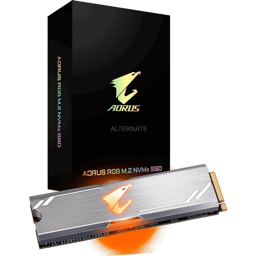 Aorus RGB unidad de estado sólido M.2 512 GB PCI Express 3.0 3D TLC NVMe
