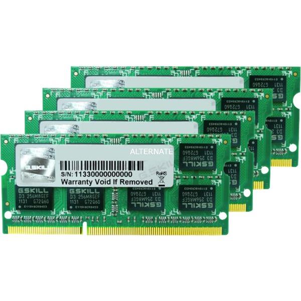 16GB DDR3-1333 16GB DDR3 1333MHz módulo de memoria, Memoria RAM