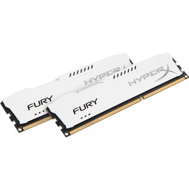FURY White 16GB 1600MHz DDR3 módulo de memoria, Memoria RAM
