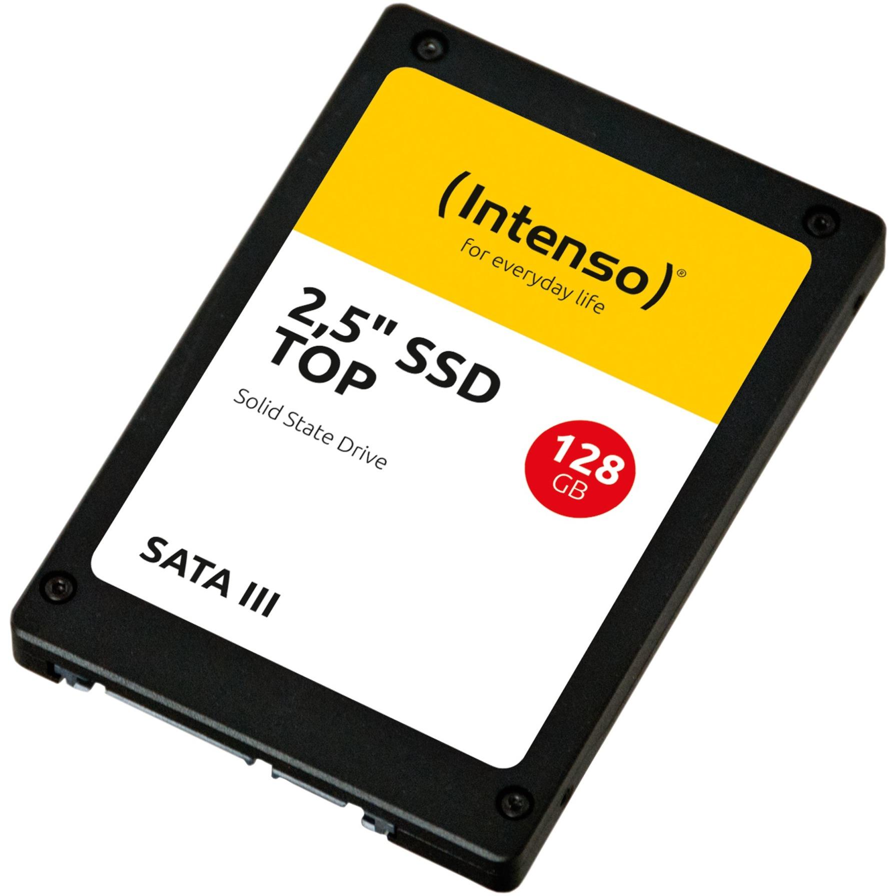 """128GB SSD SATAIII Top 128GB 2.5"""" Serial ATA III, Unidad de estado sólido"""