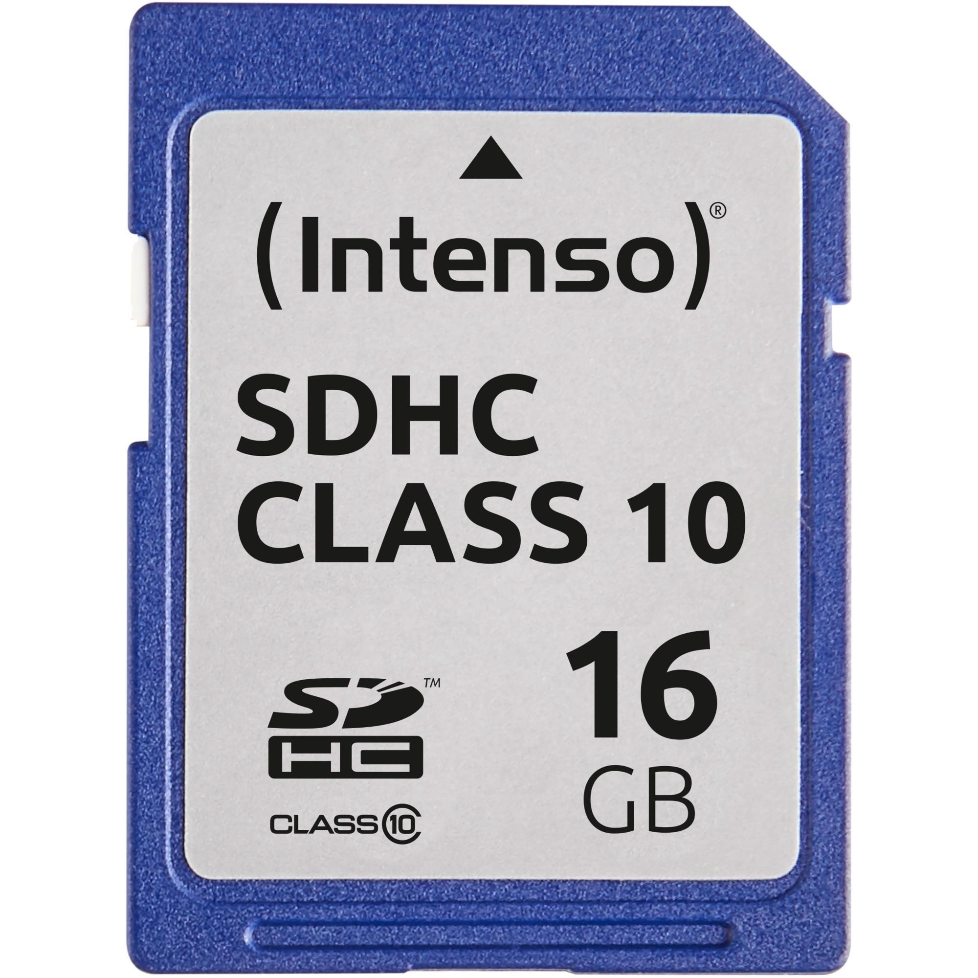 16GB SDHC 16GB SDHC Clase 10 memoria flash, Tarjeta de memoria