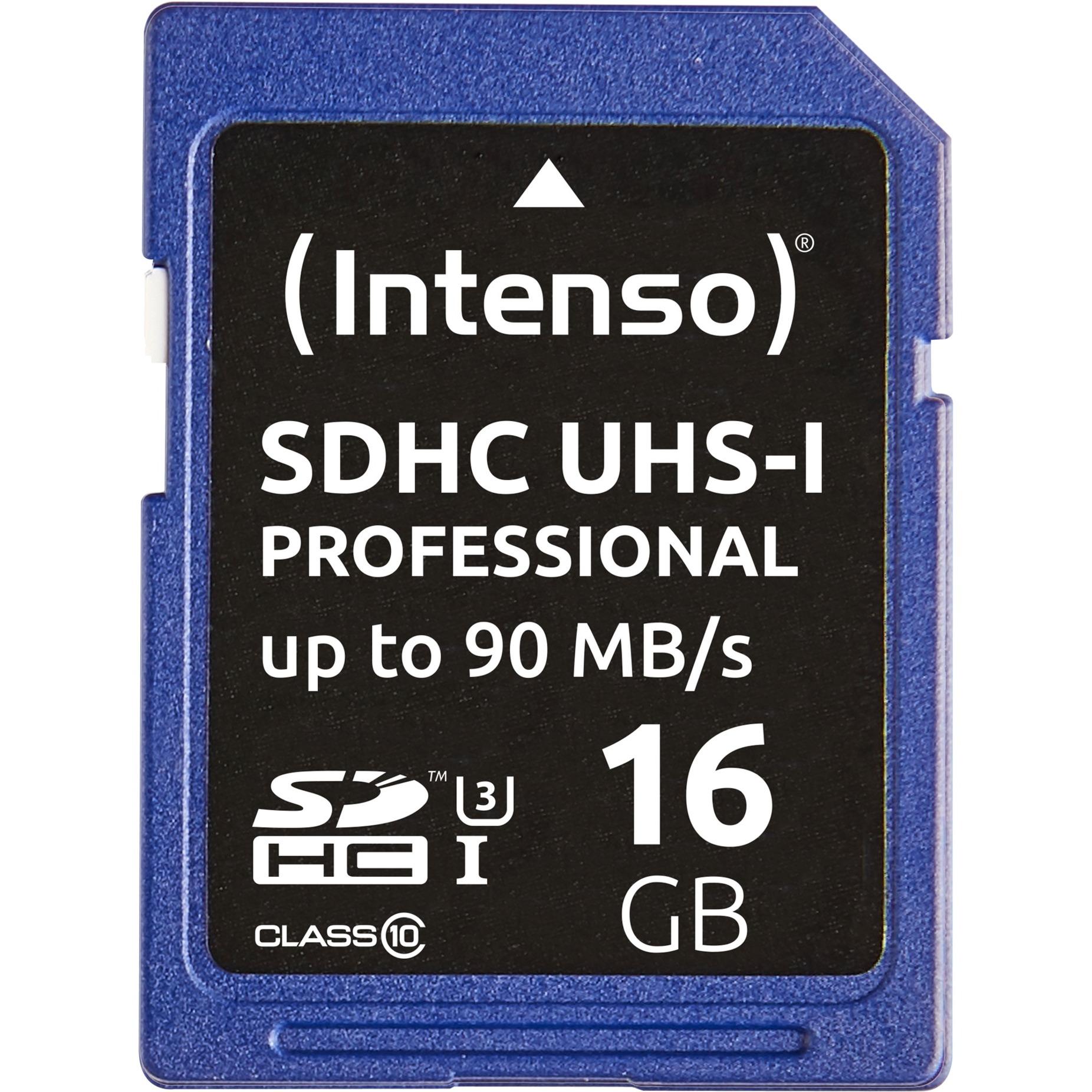16GB SDHC 16GB SDHC UHS Clase 10 memoria flash, Tarjeta de memoria