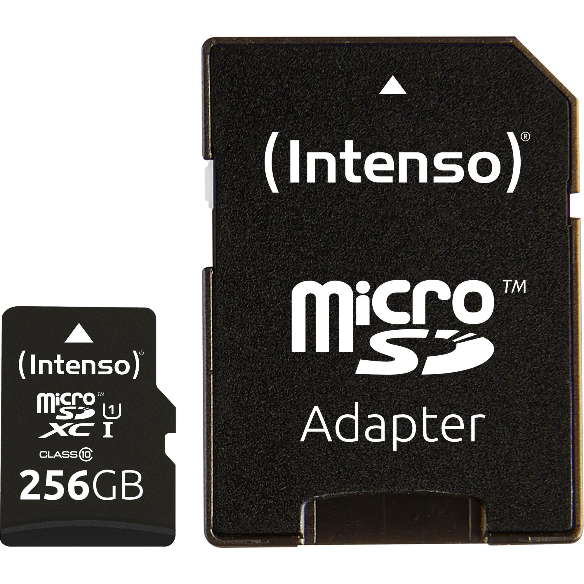 256 GB microSDXC, Tarjeta de memoria