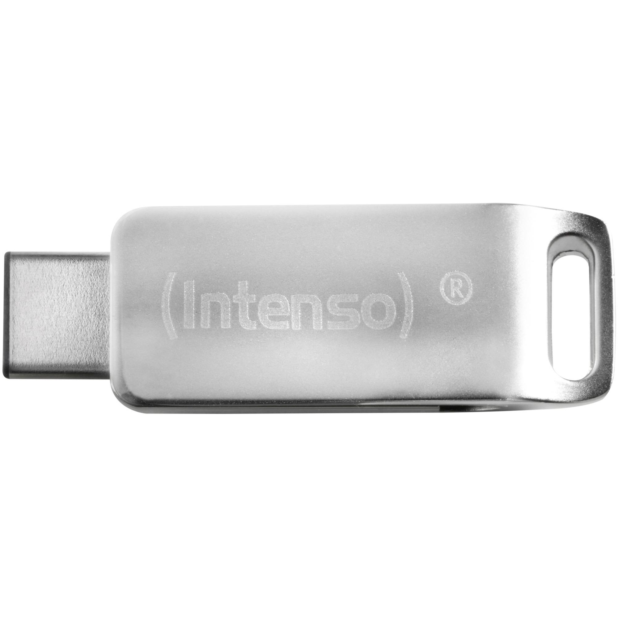 32GB cMobile Line unidad flash USB 3.0 (3.1 Gen 1) Conector de USB tipo C Plata, Lápiz USB