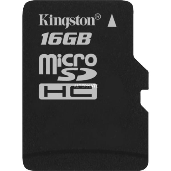 16Gb microSDHC memoria flash Clase 4, Tarjeta de memoria