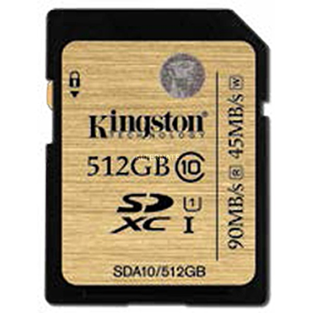 512GB SDXC UHS-I Class 10 512GB SDXC UHS-I Clase 10 memoria flash, Tarjeta de memoria