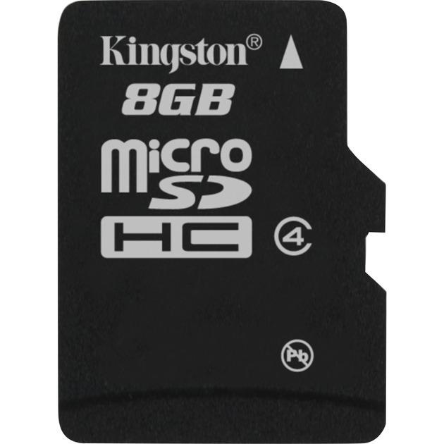 8GB microSDHC 8GB MicroSD Flash memoria flash, Tarjeta de memoria