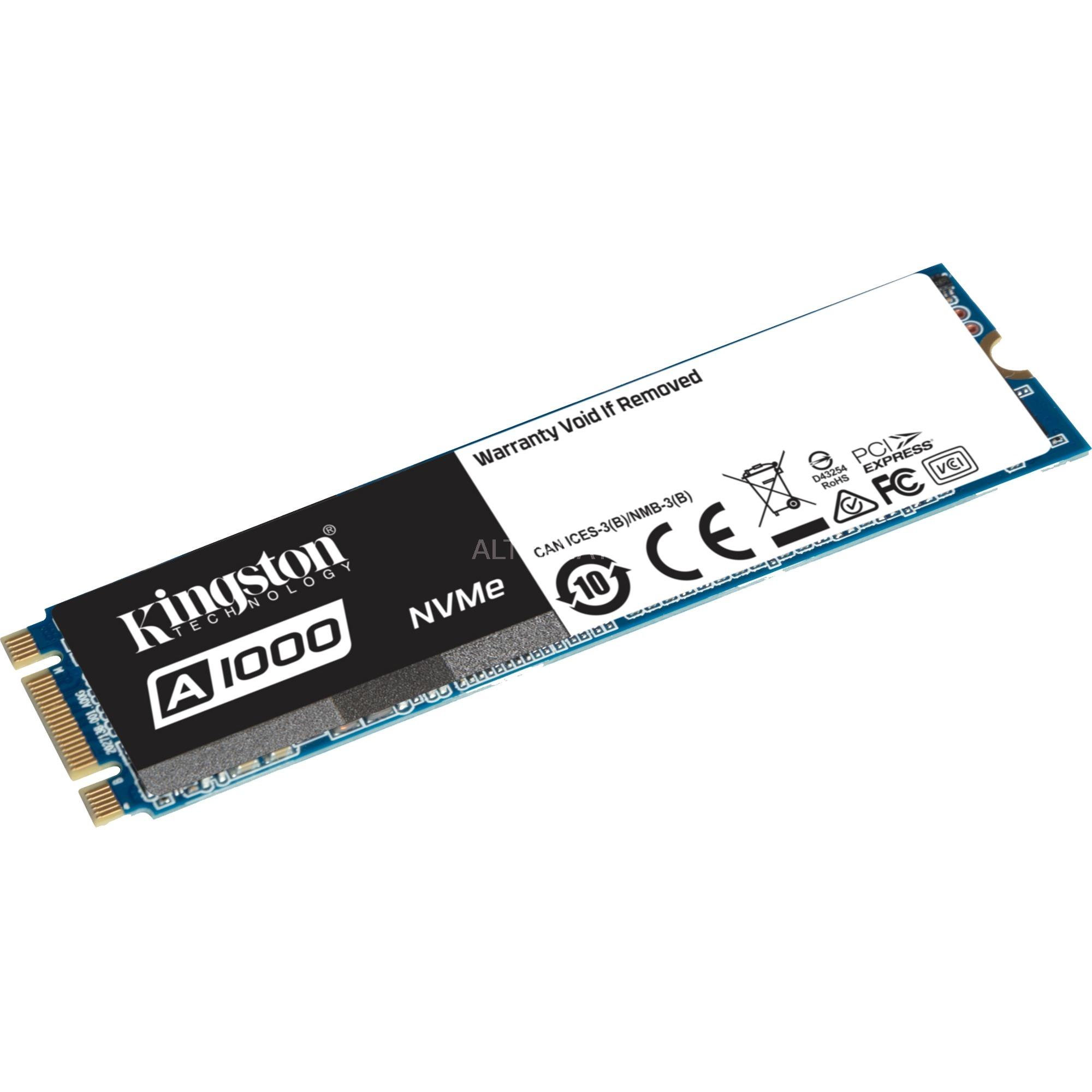 A1000 480 GB PCI Express M.2, Unidad de estado sólido