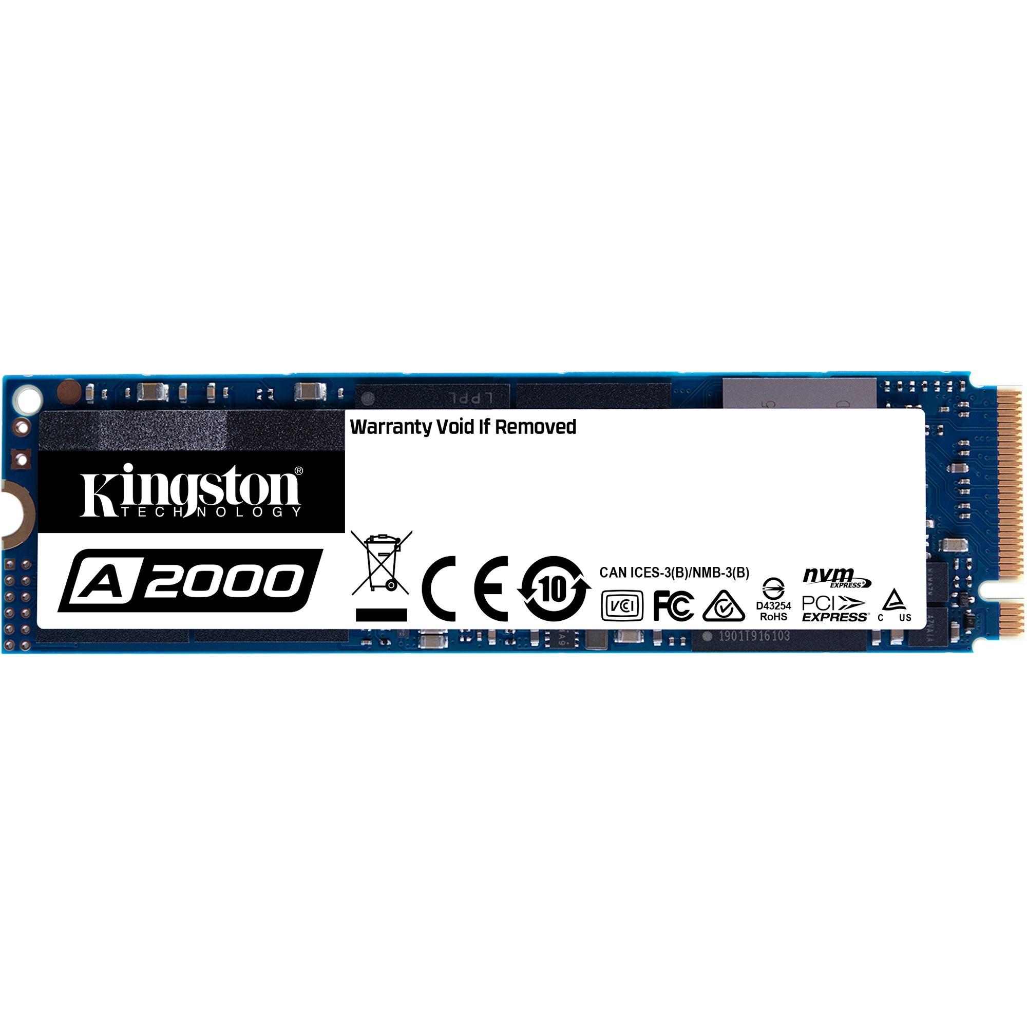 A2000 M.2 250 GB PCI Express 3.0 NVMe, Unidad de estado sólido