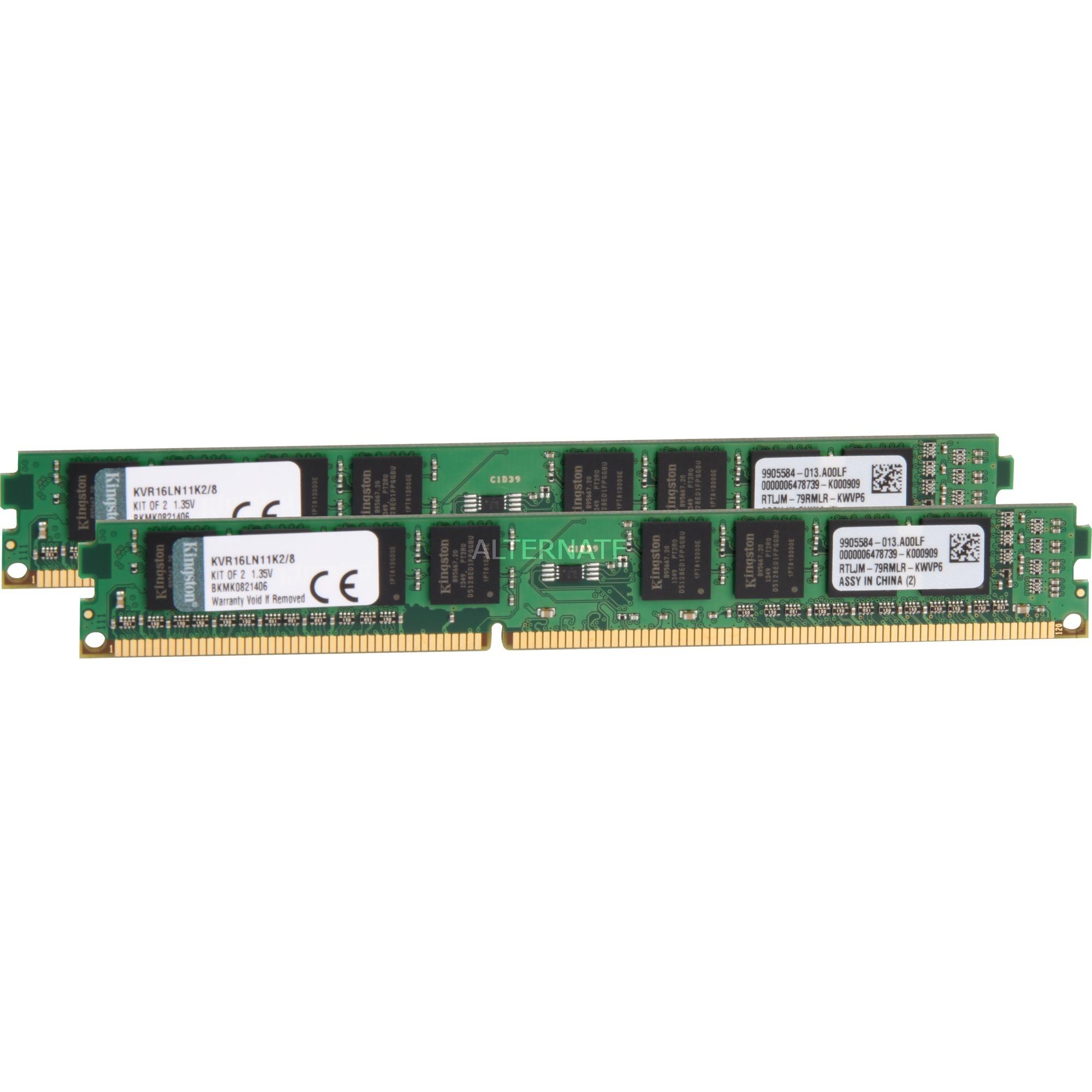System Specific Memory 8GB DDR3-1600 8GB DDR3L 1600MHz módulo de memoria, Memoria RAM