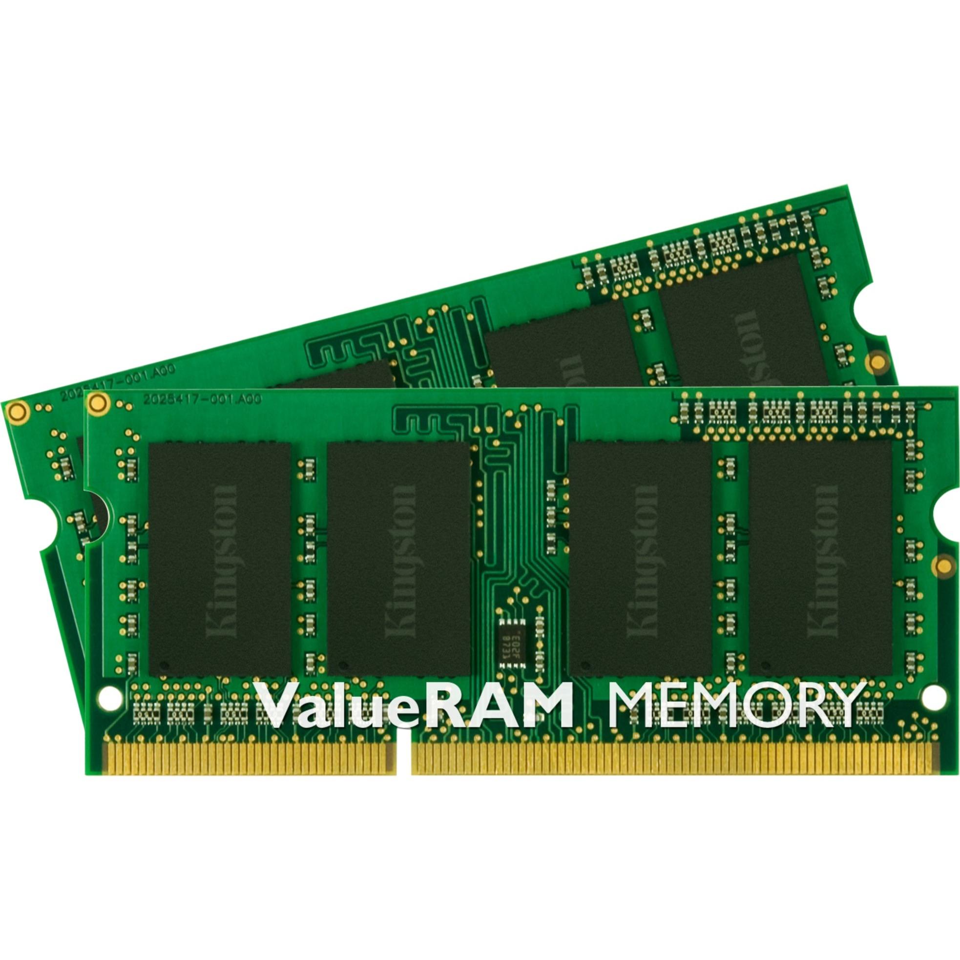 ValueRAM 16GB DDR3L 1600MHz Kit módulo de memoria, Memoria RAM