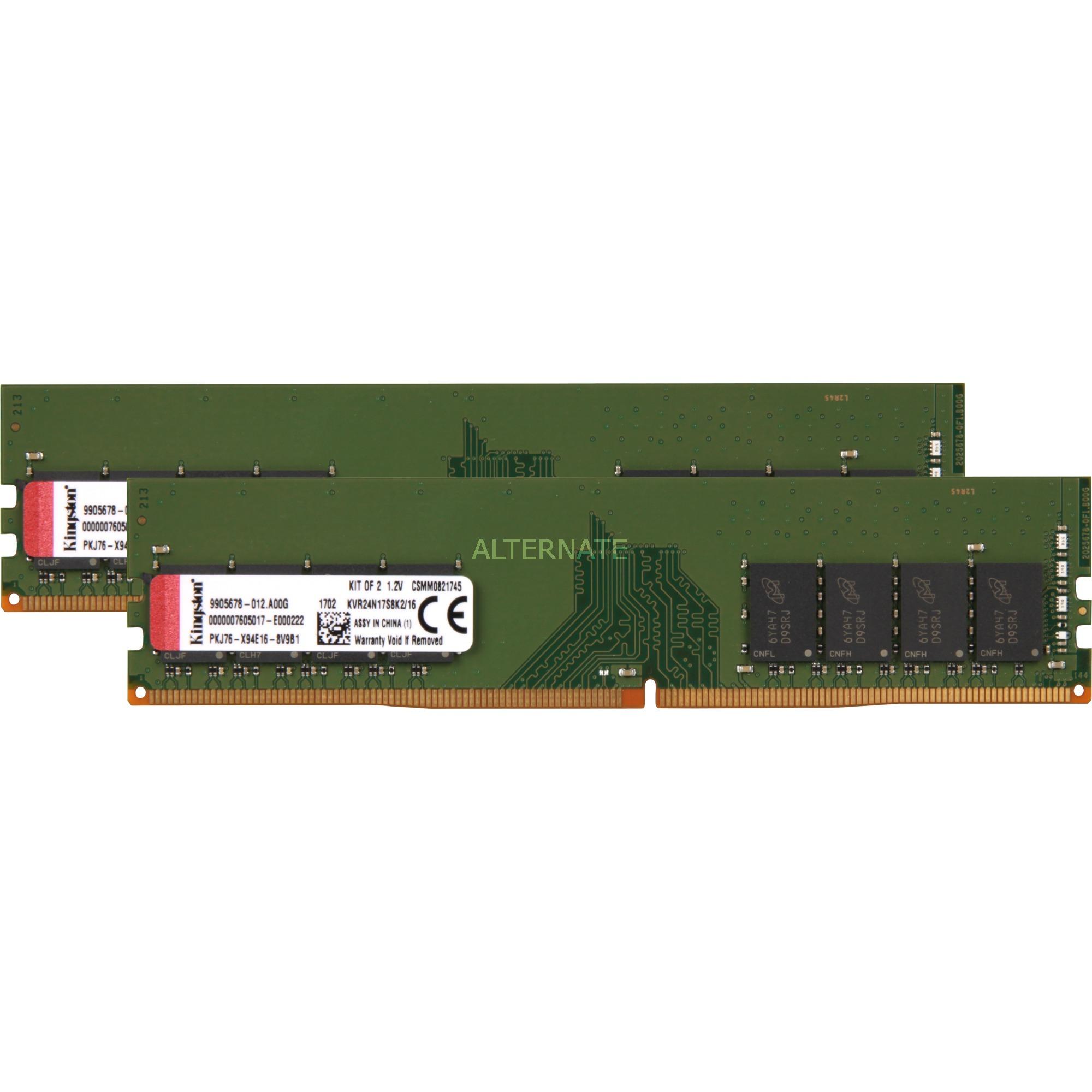 ValueRAM 16GB DDR4 2400MHz Kit módulo de memoria, Memoria RAM