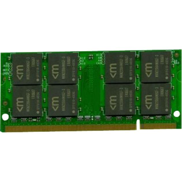 2GB DDR2 SODIMM Kit 2GB DDR2 800MHz módulo de memoria, Memoria RAM