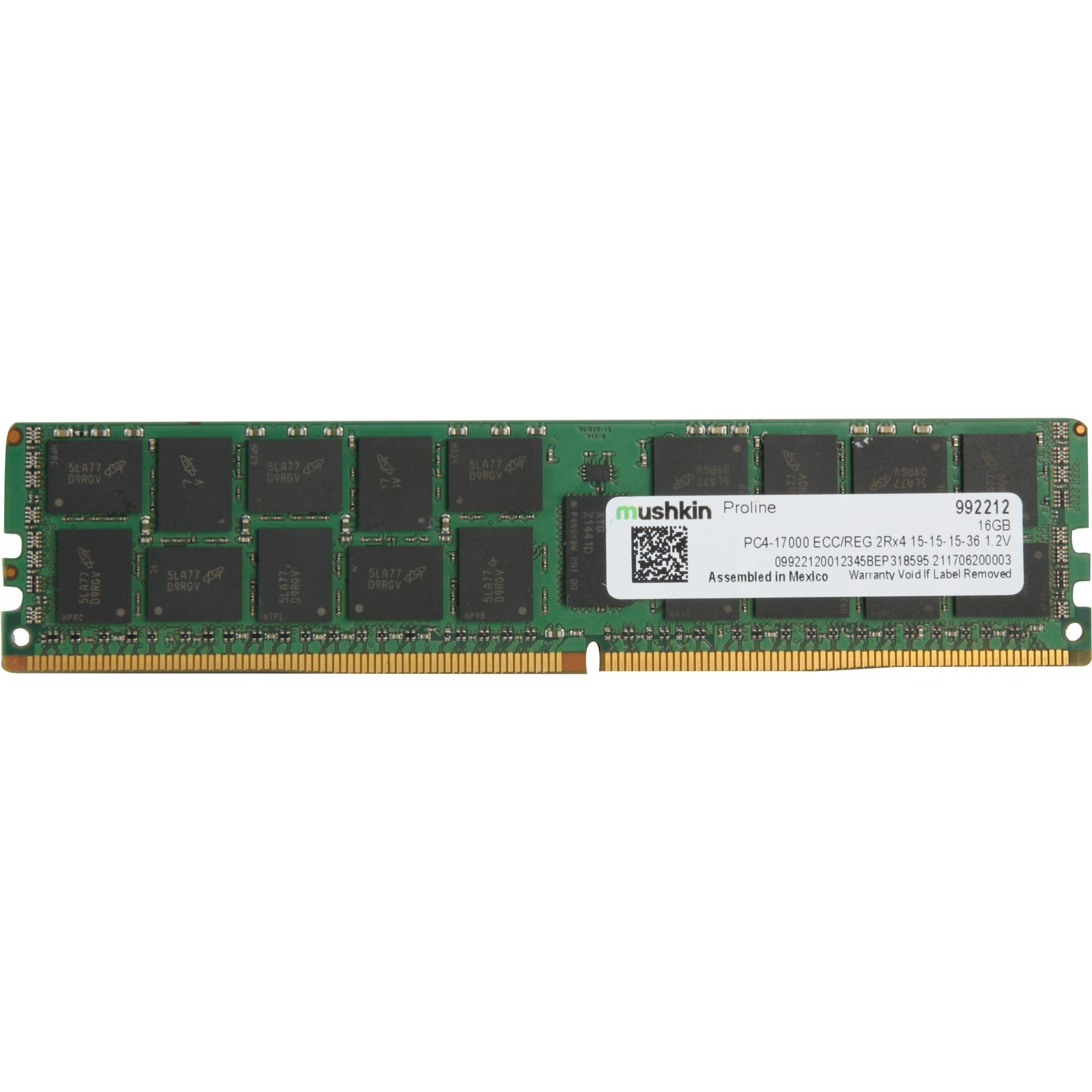 992212, Memoria RAM
