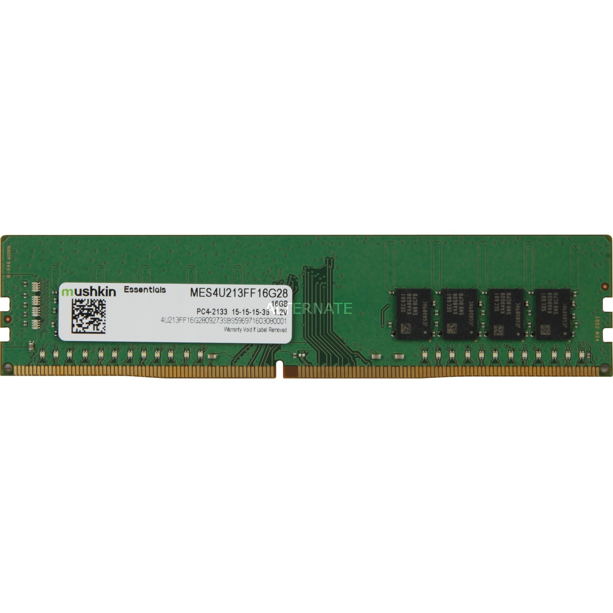 DIMM 16 GB DDR4-2133, Memoria RAM