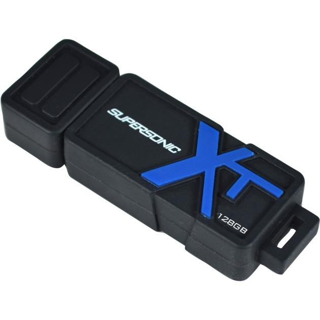 128GB Supersonic Boost XT 128GB USB 3.0 (3.1 Gen 1) Capacity Negro, Azul unidad flash USB, Lápiz USB