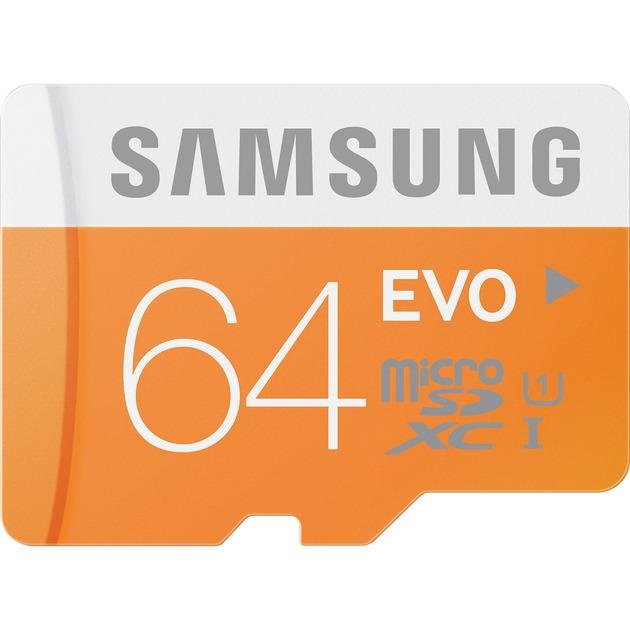 64GB, MicroSDXC EVO