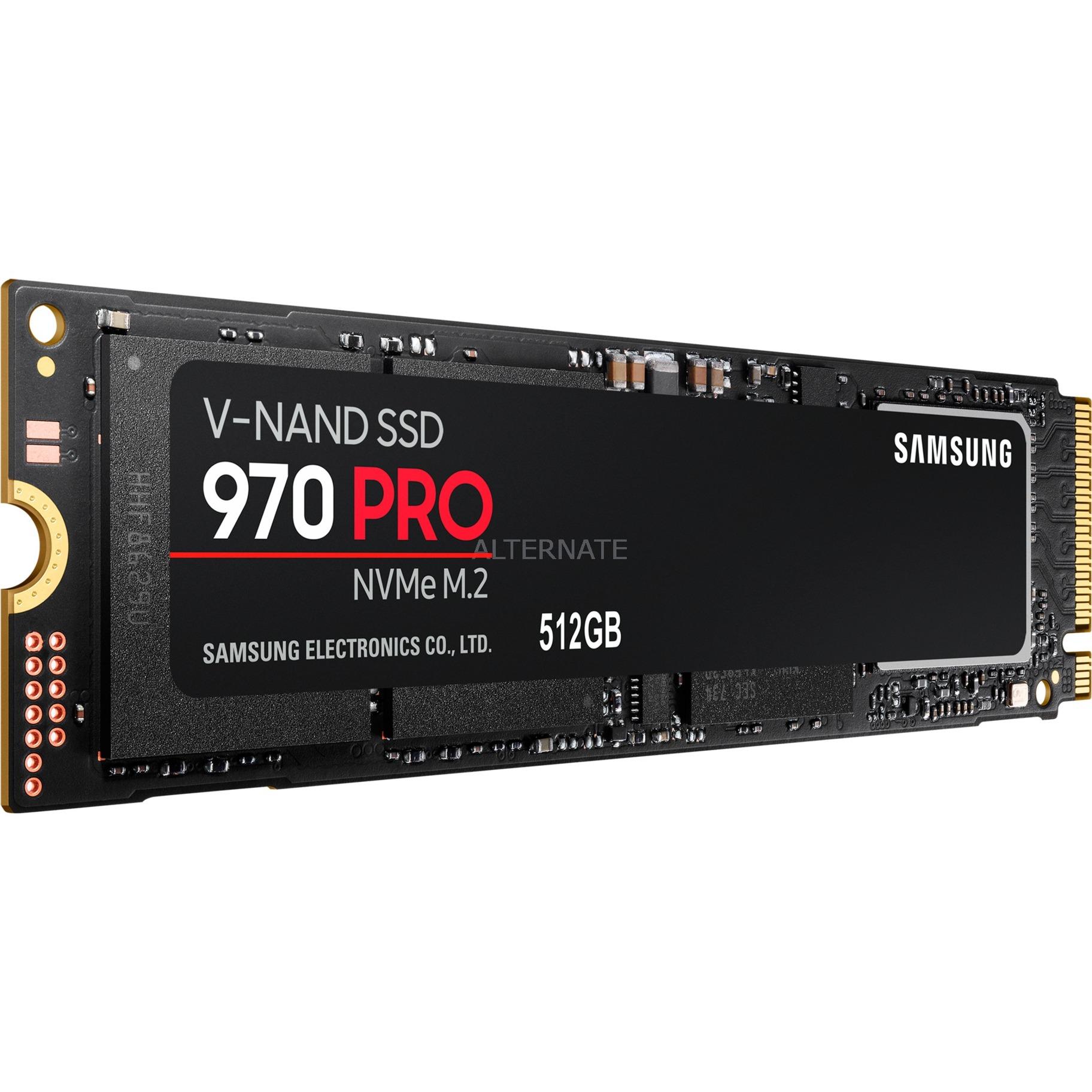 970 PRO 512 GB, Unidad de estado sólido