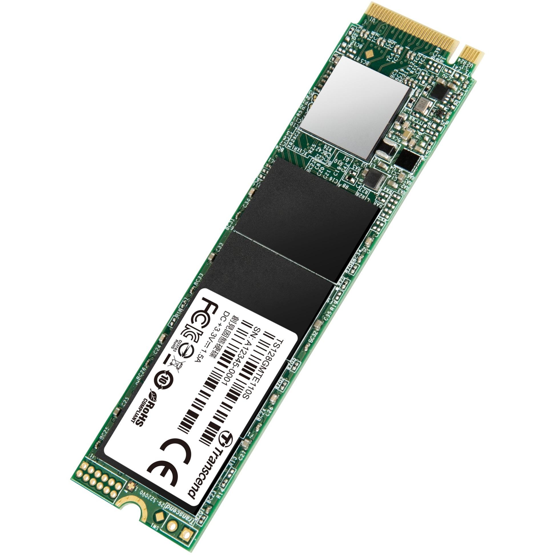 110S 128 GB PCI Express 3.0 M.2, Unidad de estado sólido
