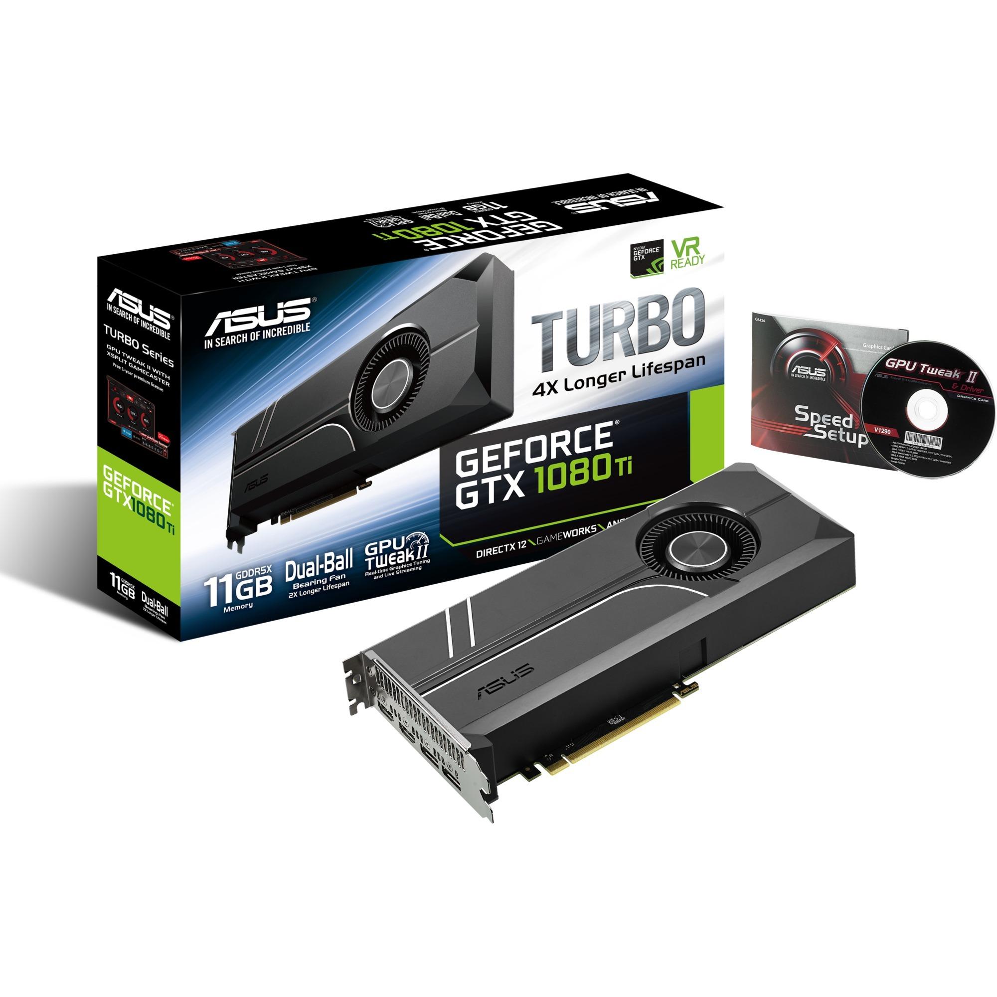 GeForce GTX 1080 Ti TURBO, Tarjeta gráfica