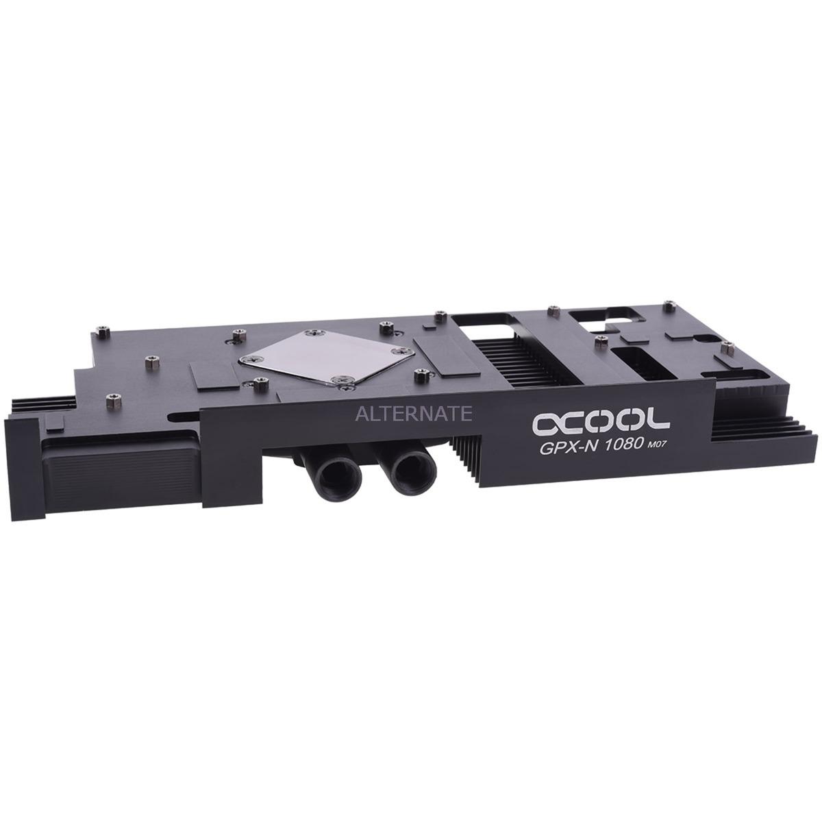NexXxoS GPX GTX 1080/1070 M07, Cuerpo de refrigeración