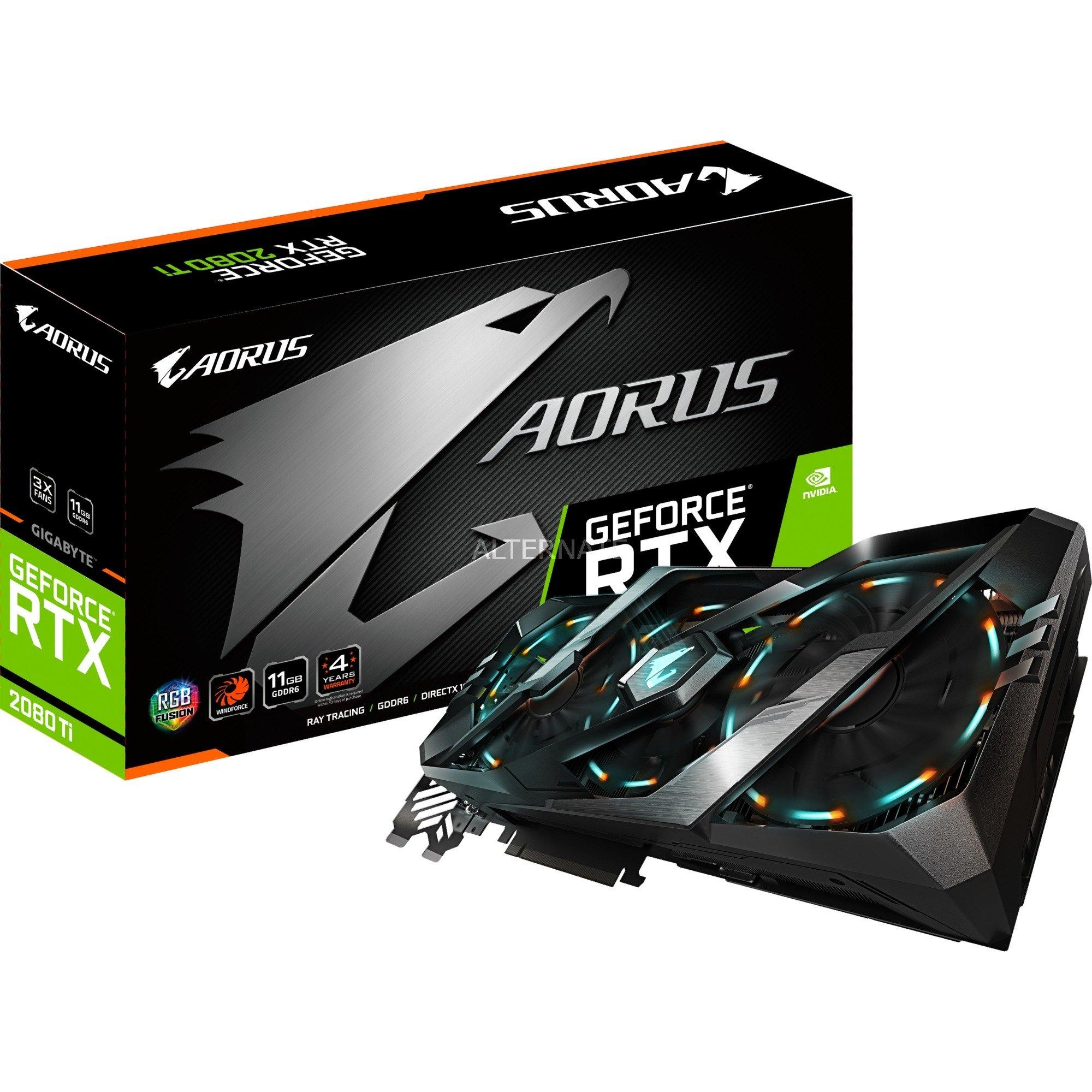 AORUS GeForce RTX 2080 Ti 11GB, Tarjeta gráfica