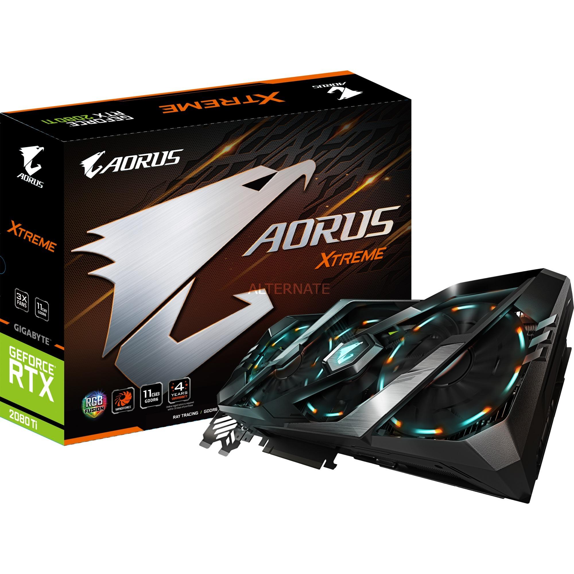 AORUS GeForce RTX 2080 Ti XTREME 11GB, Tarjeta gráfica