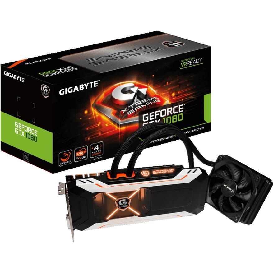 GeForce GTX 1080 Xtreme Gaming Water Cooling, Tarjeta gráfica