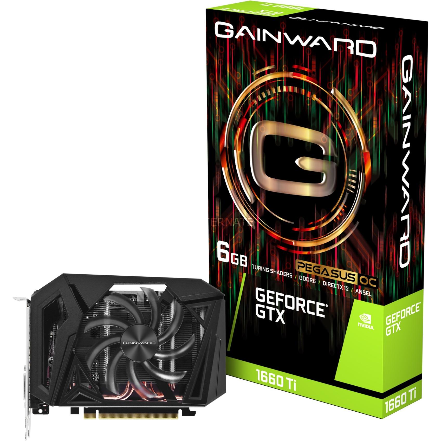 426018336-4368 tarjeta gráfica GeForce GTX 1660 Ti 6 GB GDDR6