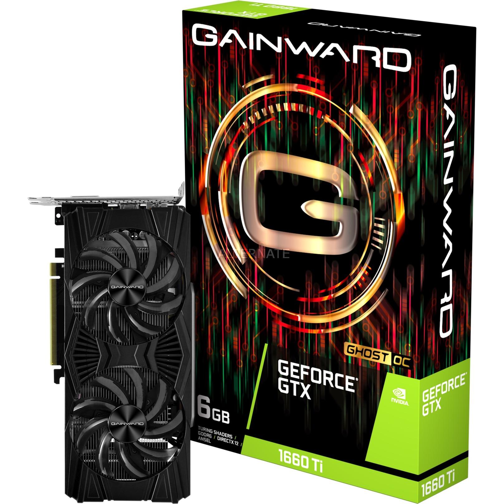 426018336-4436 tarjeta gráfica GeForce GTX 1660 Ti 6 GB GDDR6