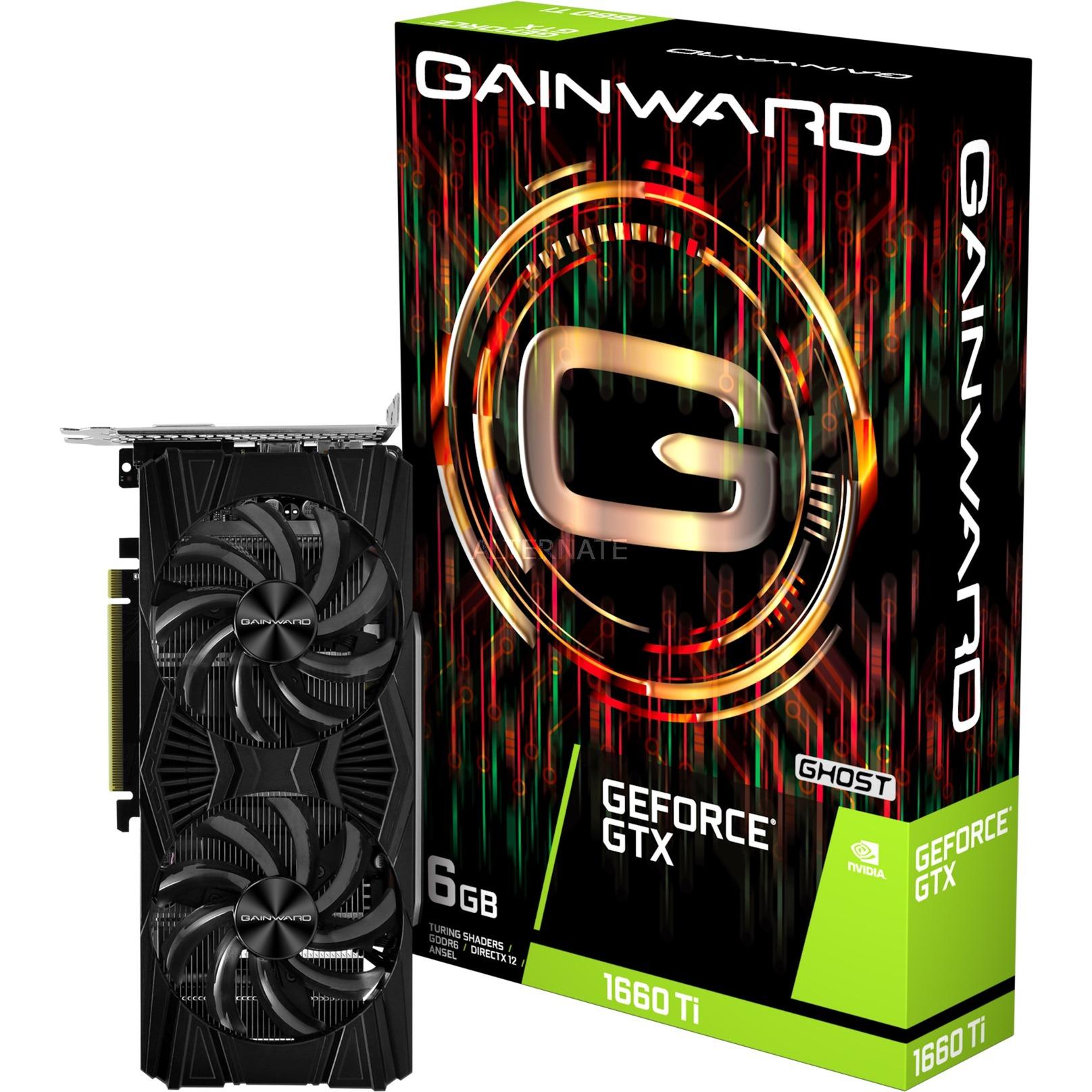 426018336-4443 GeForce GTX 1660 Ti 6 GB GDDR6, Tarjeta gráfica
