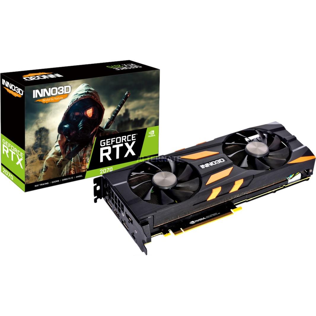 GeForce RTX 2070 X2 OC 8 GB GDDR6, Tarjeta gráfica