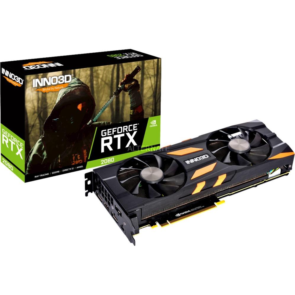 GeForce RTX 2080 TWIN X2, Tarjeta gráfica