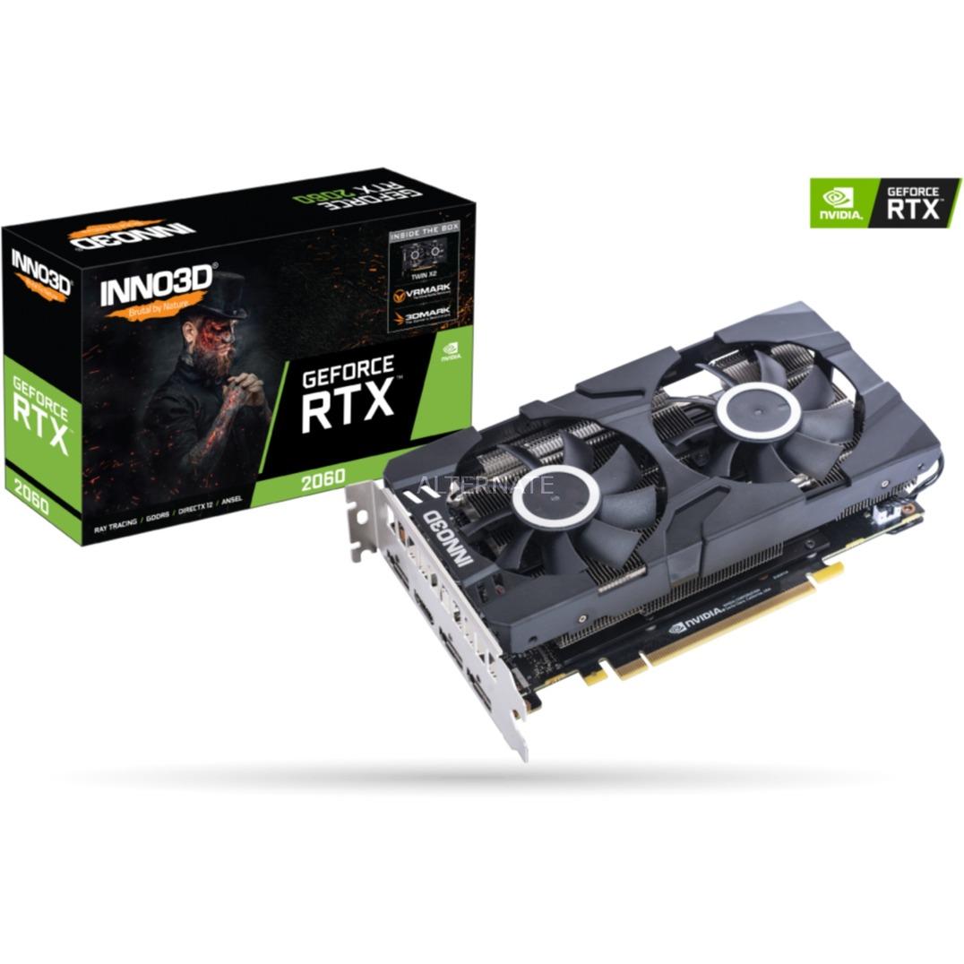 N20602-06D6-1710VA23 tarjeta gráfica GeForce RTX 2060 6 GB GDDR6
