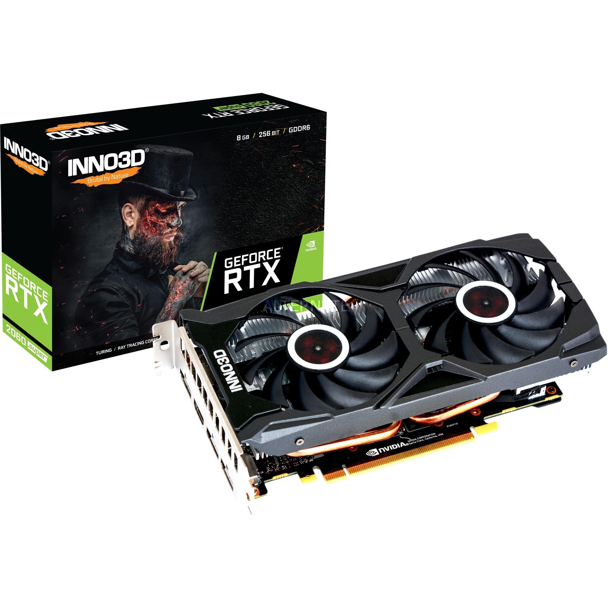 N206S2-08D6X-1710VA15L tarjeta gráfica GeForce RTX 2060 SUPER 8 GB GDDR6