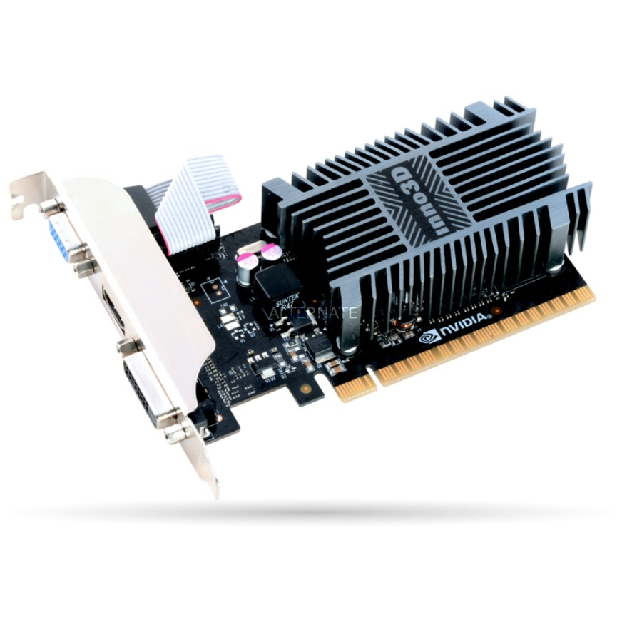 N710-1SDV-D3BX tarjeta gráfica GeForce GT 710 1 GB GDDR3