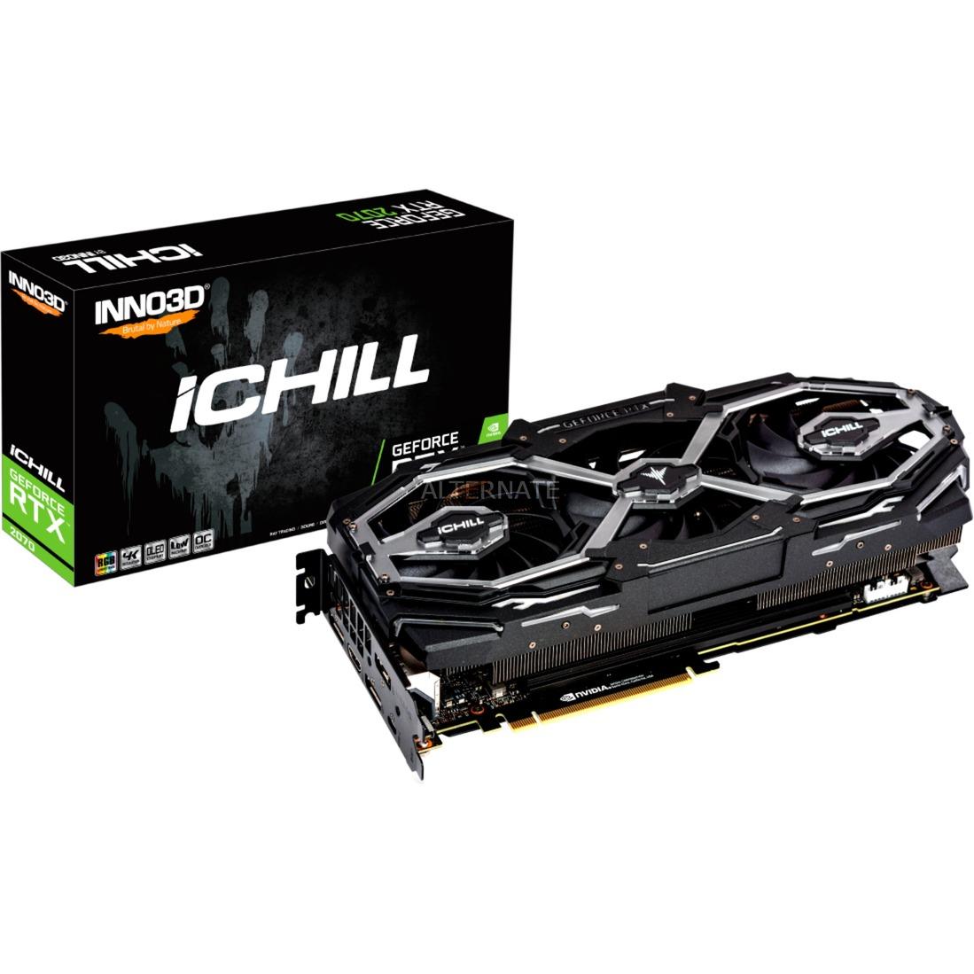 GeForce RTX 2070 SUPER iCHILL X3 JET, Tarjeta gráfica