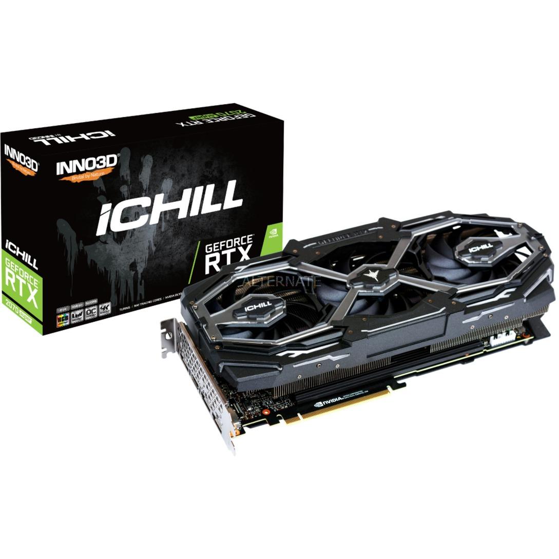 iChill C207S3-08D6X-1780VA26 tarjeta gráfica GeForce RTX 2070 SUPER 8 GB GDDR6