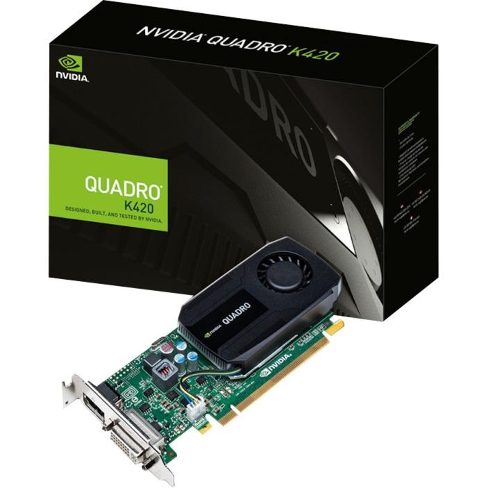 Nvidia Quadro K420 2 GB GDDR3, Tarjeta gráfica