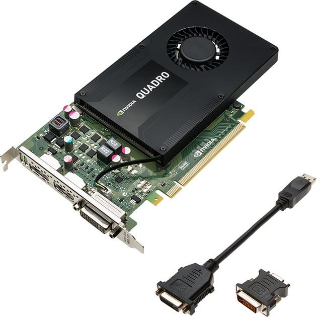 VCQK2200-PB Quadro K2200 4GB GDDR5 tarjeta gráfica