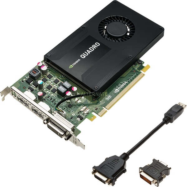 VCQK2200-PB tarjeta gráfica Quadro K2200 4 GB GDDR5