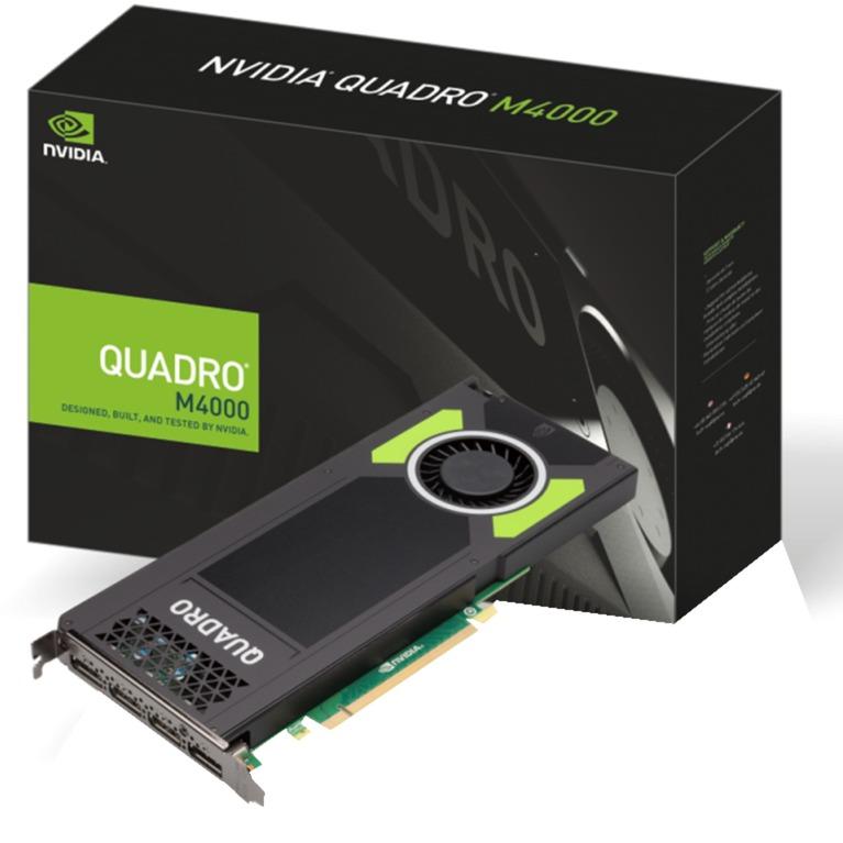 VCQM4000-PB tarjeta gráfica Quadro M4000 8 GB GDDR5