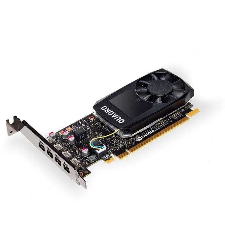 VCQP1000DVI-PB tarjeta gráfica Quadro P1000 4 GB GDDR5
