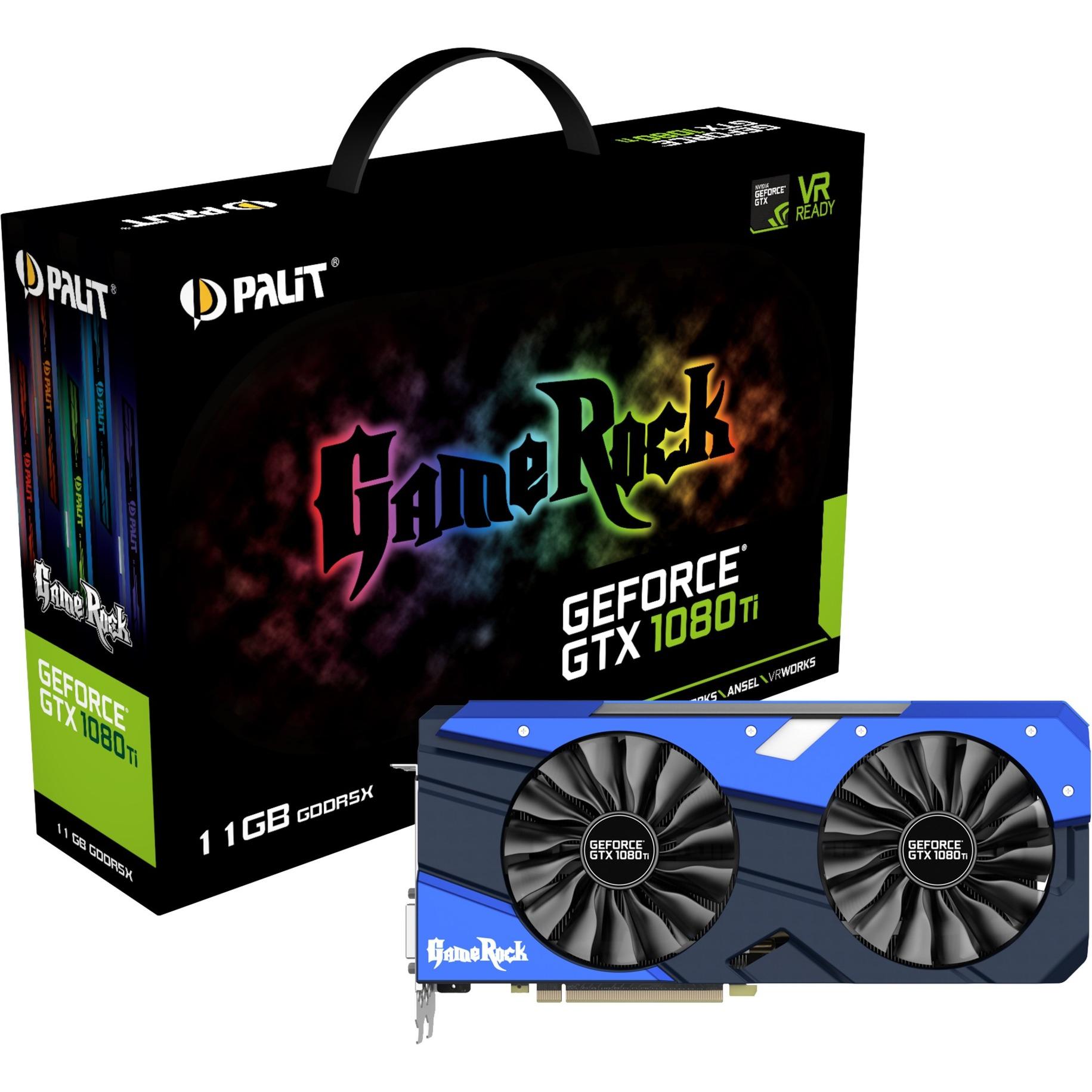 GeForce GTX 1080 Ti Gamerock, Tarjeta gráfica
