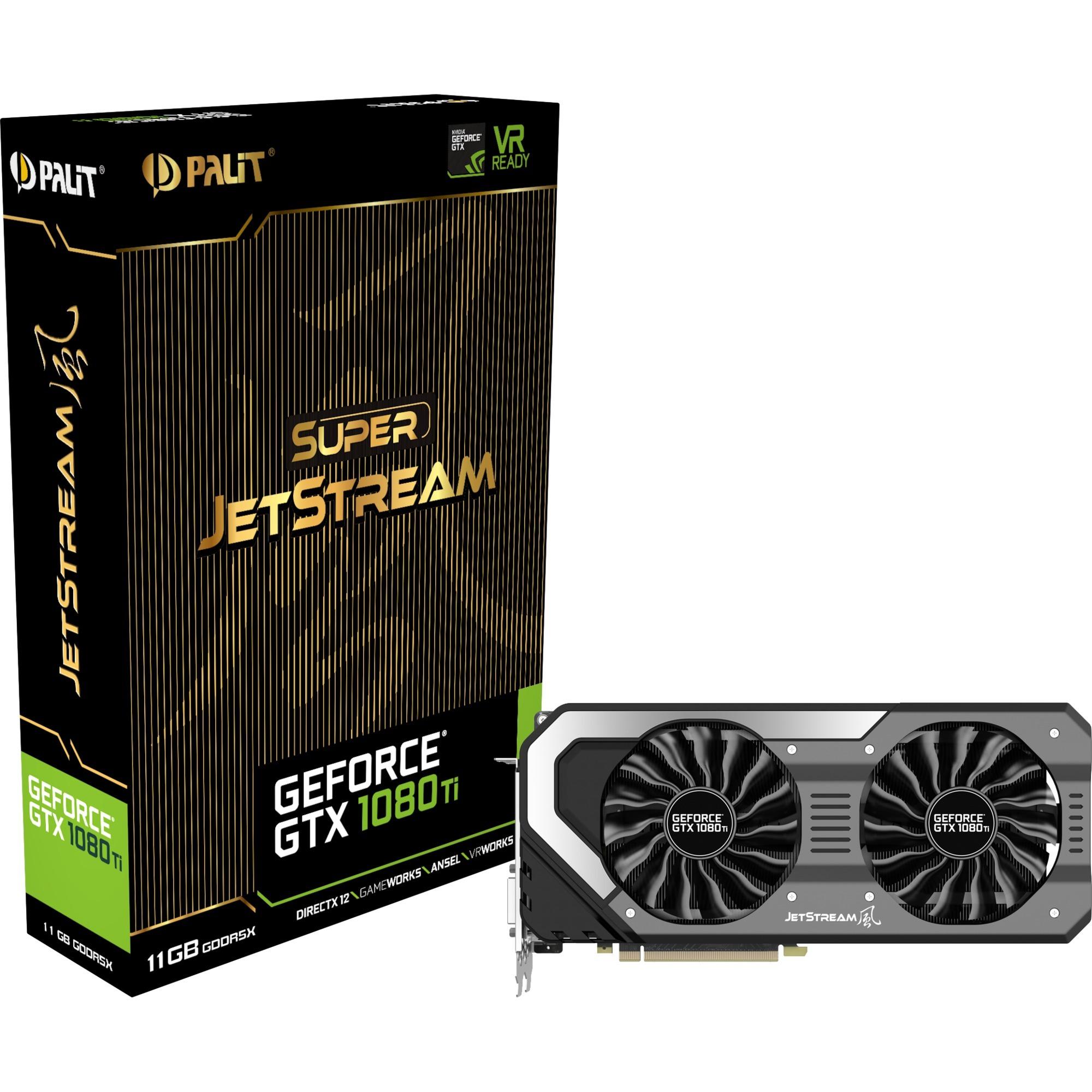 GeForce GTX 1080 Ti Super Jetstream, Tarjeta gráfica