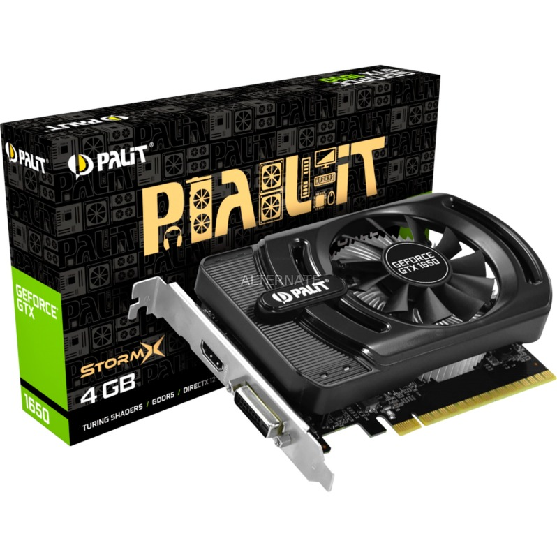 GeForce GTX 1650 StormX 4 GB GDDR5, Tarjeta gráfica
