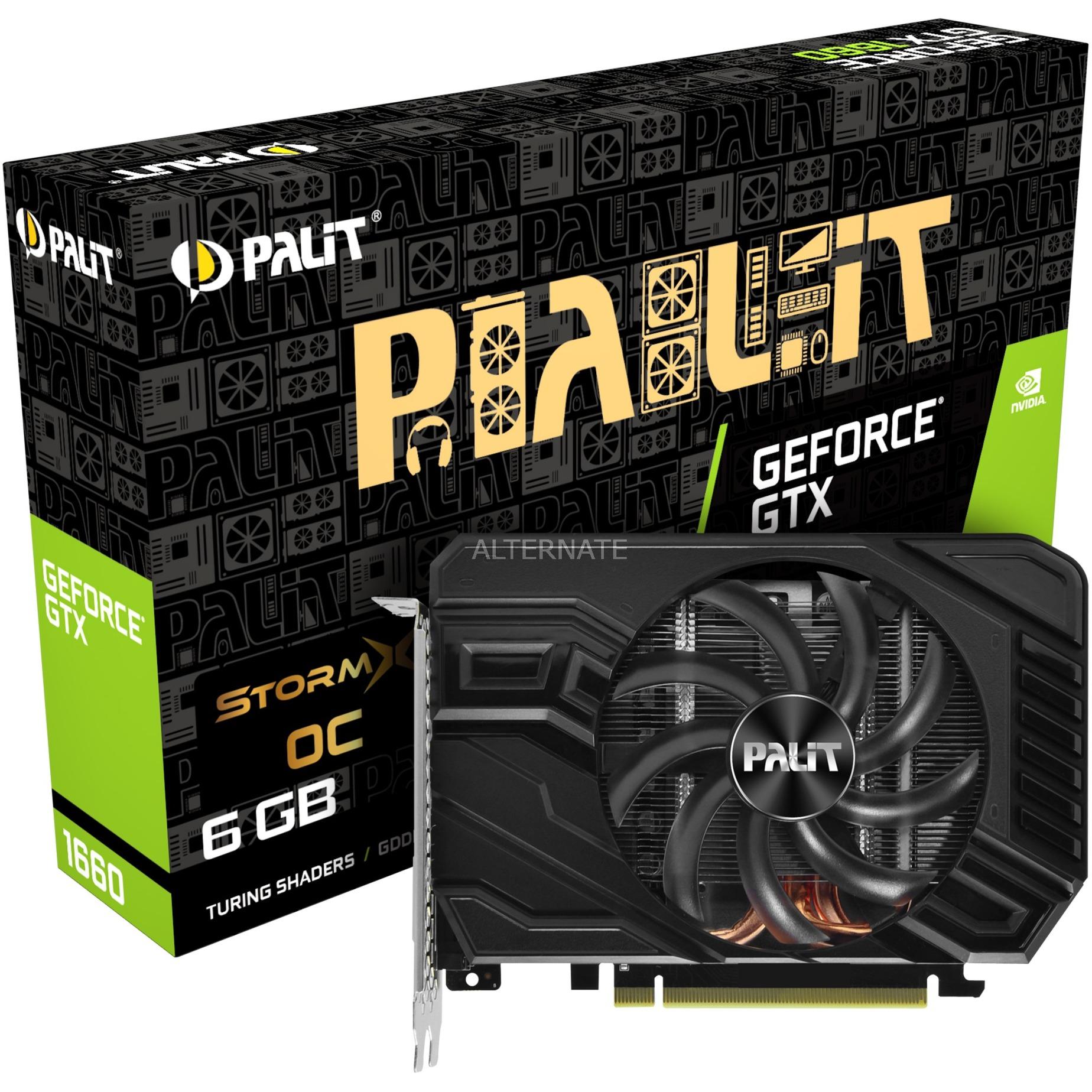 GeForce GTX 1660 StormX OC, Tarjeta gráfica