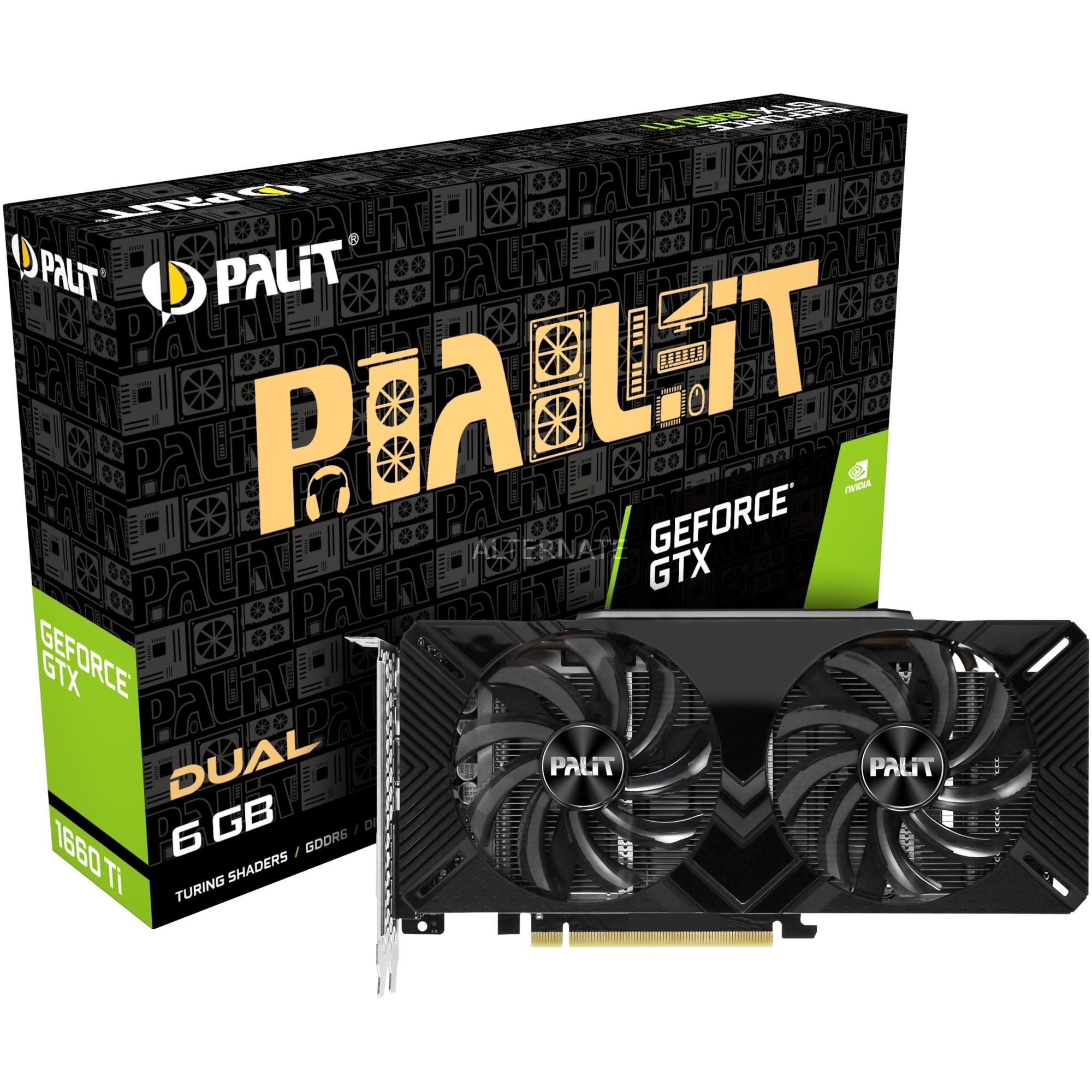 GeForce GTX 1660 Ti Dual, Tarjeta gráfica