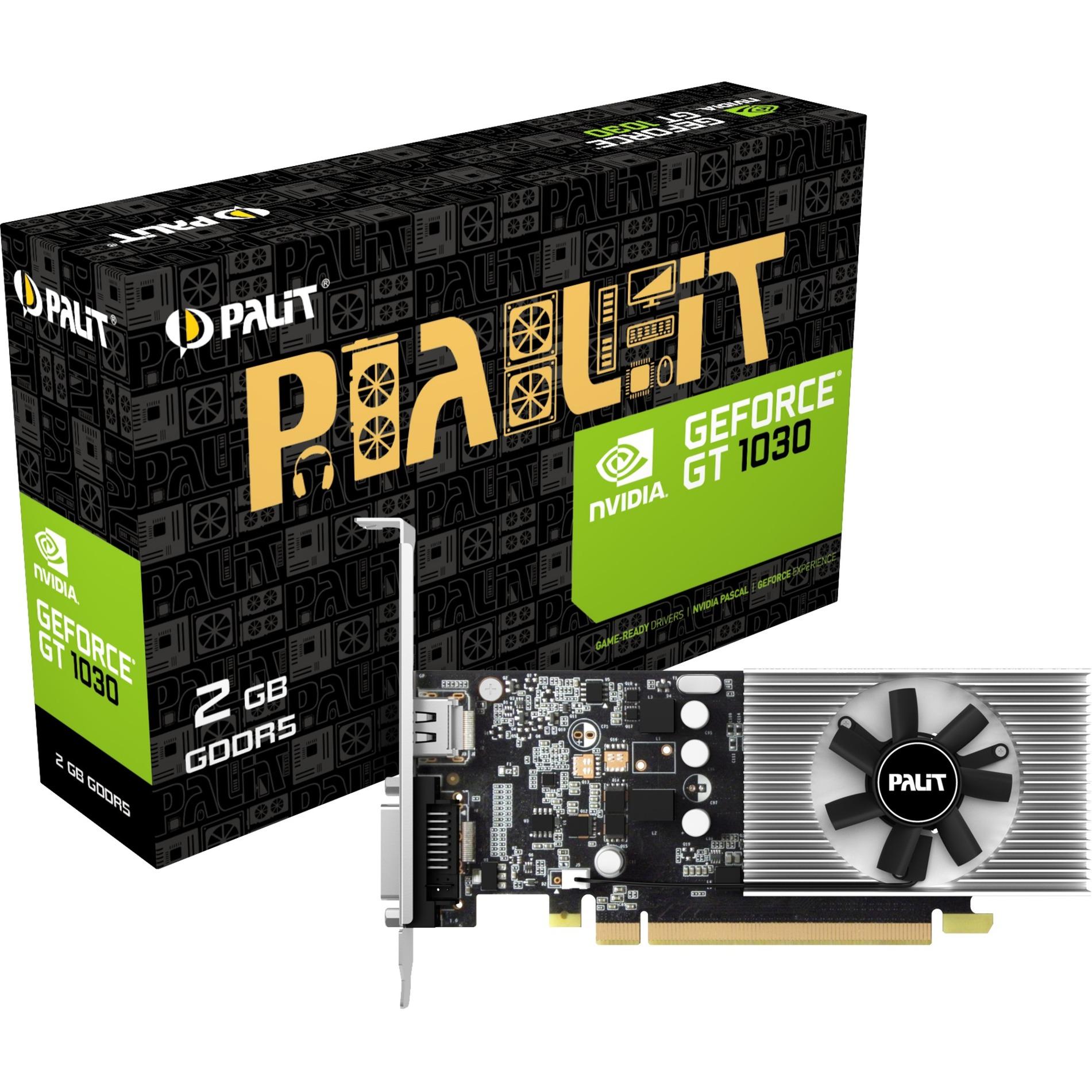 GeForce GT 1030, Tarjeta gráfica