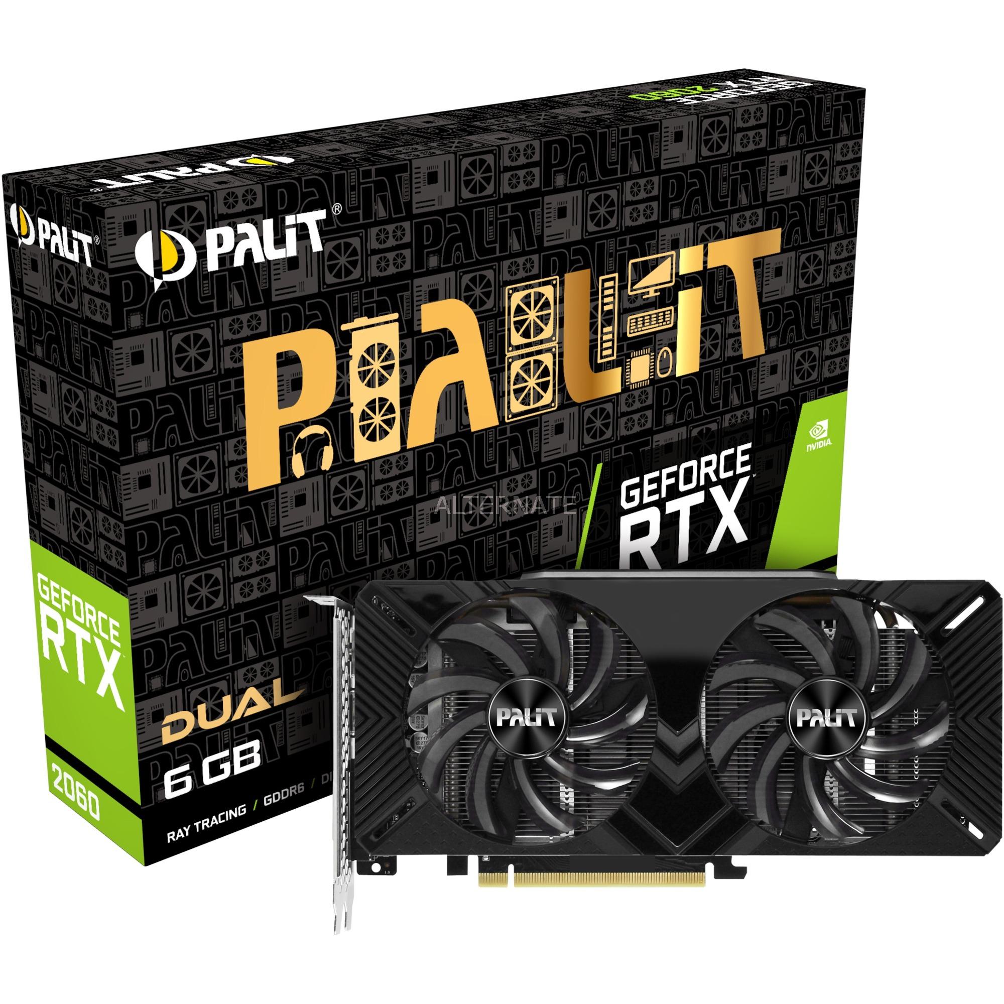 GeForce RTX 2060 Dual, Tarjeta gráfica